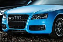 Ajustamento do cupê de Audi S5 Fotografia de Stock