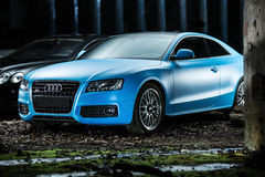 Ajustamento do cupê de Audi S5 Foto de Stock Royalty Free