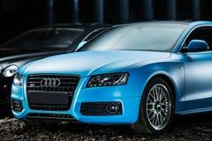 Ajustamento do cupê de Audi S5 Imagens de Stock Royalty Free