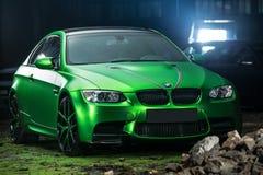 Ajustamento do cupê de BMW M3 Foto de Stock