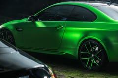 Ajustamento do cupê de BMW M3 Imagens de Stock