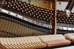 Ajustando o piano Imagens de Stock