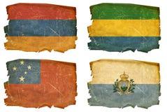 Ajuste as bandeiras # 28 velhos Fotografia de Stock Royalty Free