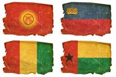 Ajuste as bandeiras # 32 velhos Fotos de Stock Royalty Free