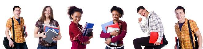 Ajuste as fotos do estudante Imagens de Stock