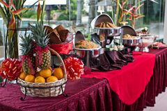Ajuste chino de la comida fría del Año Nuevo fotografía de archivo libre de regalías