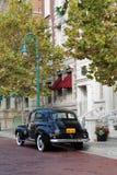 Ajuste clásico del coche clásico fotografía de archivo libre de regalías