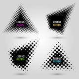Ajuste com elementos de intervalo mínimo abstratos do projeto Imagem de Stock Royalty Free