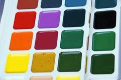 Ajuste cores de água Foto de Stock Royalty Free