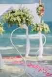 Ajuste da flor do casamento Foto de Stock