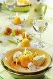 Ajuste da tabela de Easter Imagem de Stock