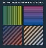 Ajuste das linhas coloridas fundo e textura do teste padrão ilustração royalty free
