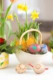 Ajuste de Easter imagem de stock