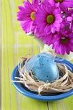 Ajuste de la tabla de Pascua Imagen de archivo libre de regalías