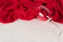 Ajuste de la tabla de Valentine Day Fotografía de archivo