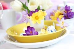 Ajuste de lugar de Easter Imagens de Stock Royalty Free