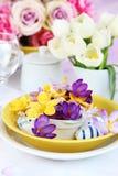Ajuste de lugar de Easter Fotografia de Stock