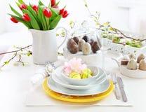 Ajuste de lugar para Easter Imagens de Stock