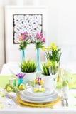 Ajuste de lugar para Easter Fotografia de Stock Royalty Free