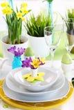 Ajuste de lugar para Easter Imagem de Stock Royalty Free