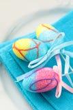 Ajuste de lugar para Easter elegante Fotos de Stock Royalty Free