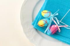Ajuste de lugar para Easter elegante Foto de Stock
