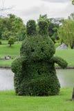Ajuste del árbol como animales en el parque foto de archivo libre de regalías