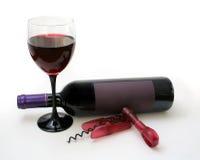 Ajuste do vinho Imagens de Stock Royalty Free