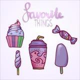 Ajuste doces do ot Imagens de Stock