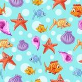 Ajuste em um tema do mar Foto de Stock