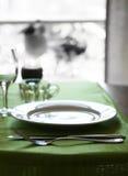 Ajuste extravagante da tabela Imagem de Stock Royalty Free