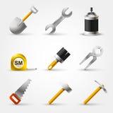 Ajuste a ferramenta do construtor Imagem de Stock