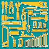 Ajuste ferramentas para o reparo Ilustração do Vetor