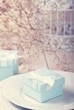 Ajuste festivo de la tabla Fotos de archivo libres de regalías