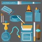 Ajuste fumando Imagens de Stock Royalty Free