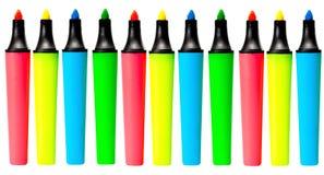 Ajuste a cor do marcador Imagem de Stock Royalty Free