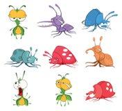 Ajuste a ilustração dos desenhos animados Erros engraçados para você projeto ilustração royalty free