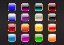 Ajuste los botones Imagen de archivo libre de regalías