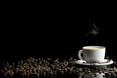 Ajuste lujoso del café Foto de archivo libre de regalías
