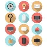 Ajuste a mensagem do ícone Imagens de Stock Royalty Free