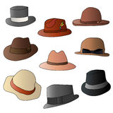 Ajuste o chapéu Imagem de Stock