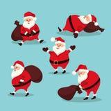 Ajuste Papai Noel Imagens de Stock