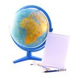 Ajuste para a geografia foto de stock royalty free