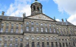 Ajuste para um rei e uma rainha holandeses, o palácio real de Amsterdão Foto de Stock Royalty Free