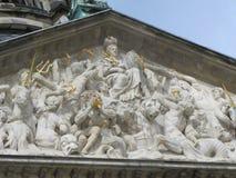 Ajuste para um rei e uma rainha holandeses, o palácio real de Amsterdão Fotos de Stock
