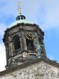 Ajuste para um rei e uma rainha holandeses, o palácio real de Amsterdão Fotografia de Stock Royalty Free