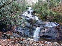 Ajuste quedas de Rock Creek Fotografia de Stock Royalty Free