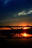 Ajuste Sun fotografia de stock royalty free