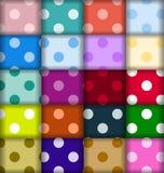 Ajuste testes padrões de pontos Foto de Stock
