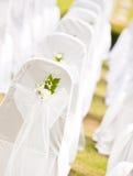 Ajuste tropical para a cerimónia de casamento Imagens de Stock Royalty Free